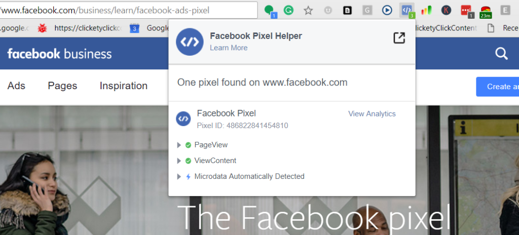 How To Monitor Facebook Pixel Events - Facebook Pixel Installed