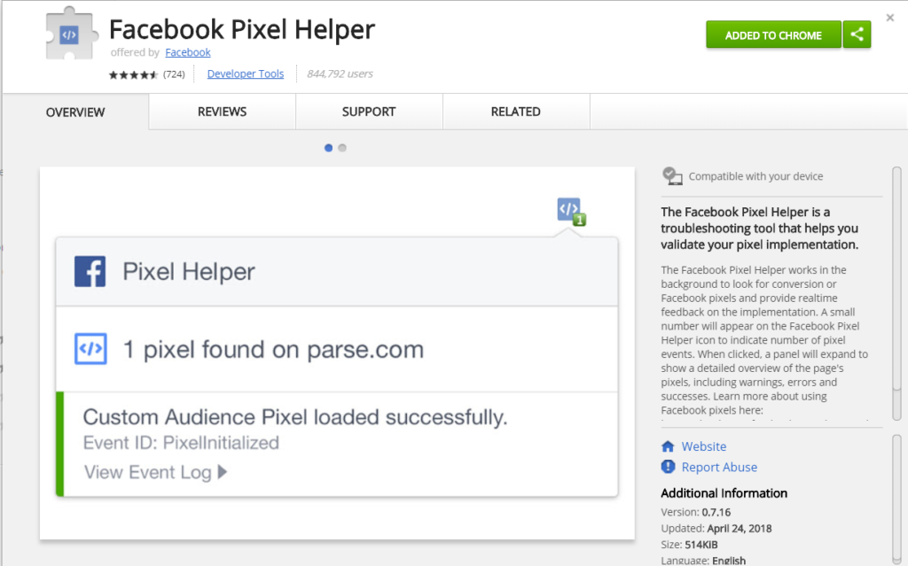 How To Monitor Facebook Pixel Events - Install Facebook Pixel Helper