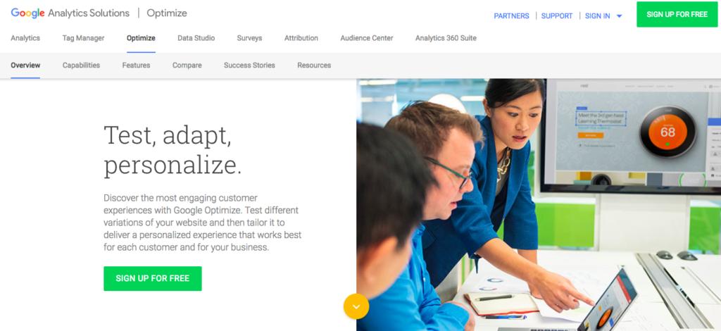 5 Digital Marketing Tactics to Increase Conversions - Use Google Optimize