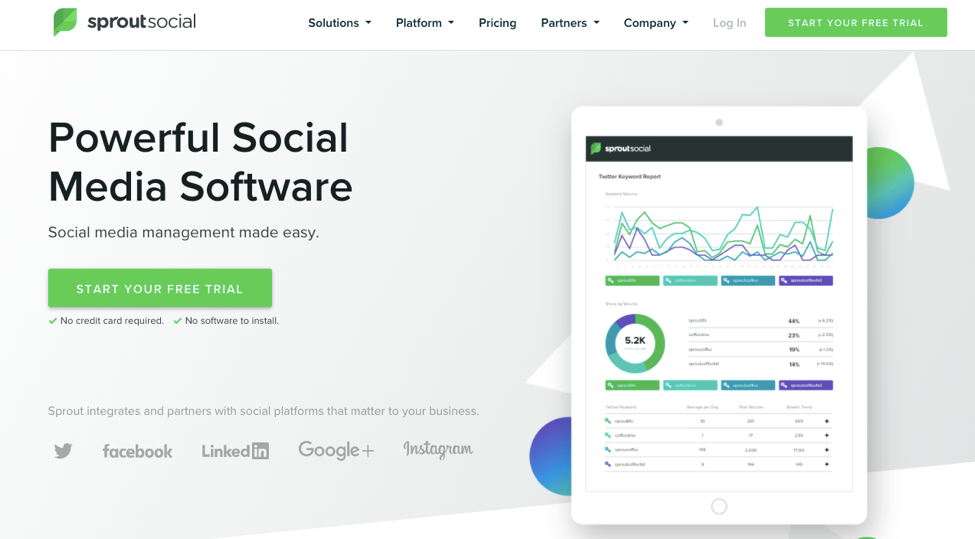 7 Steps To Building a Social Media Presence - Use Sproutsocial - Social Meda Management Made Easy